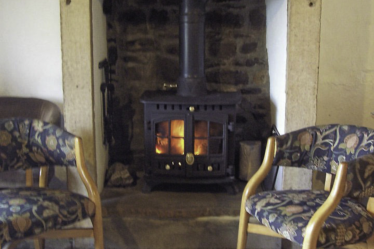 YHA Ninebanks Fireplace