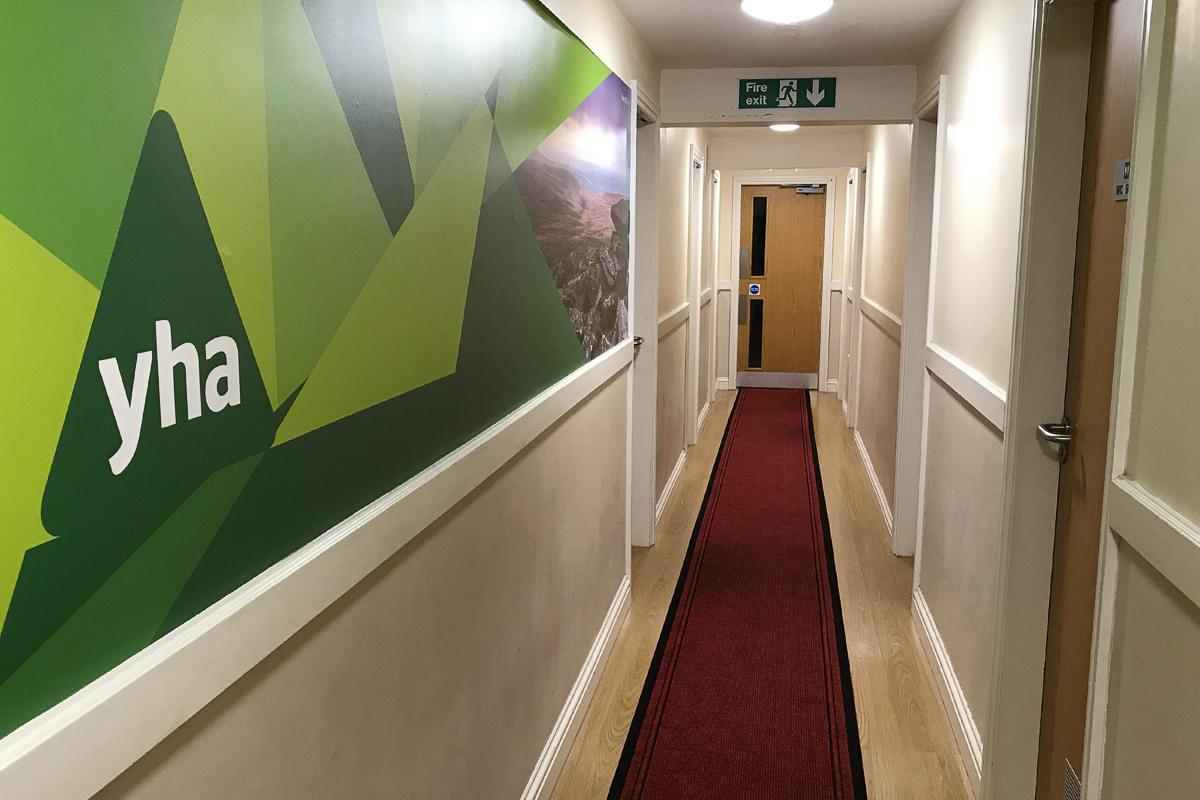 YHA Okehampton Hallway