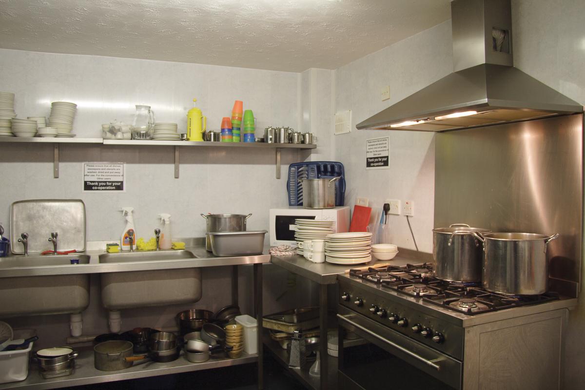 YHA Okehampton Kitchen