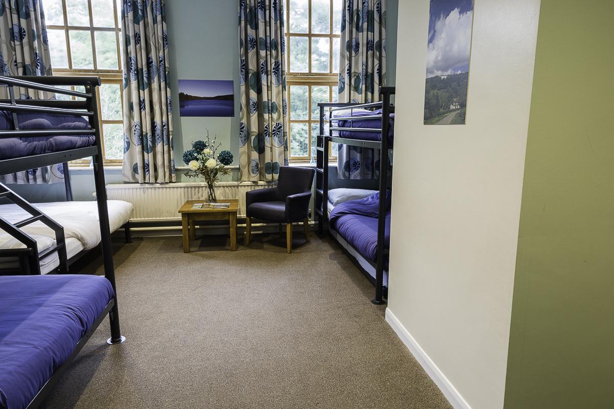 YHA Osmotherley Bedroom