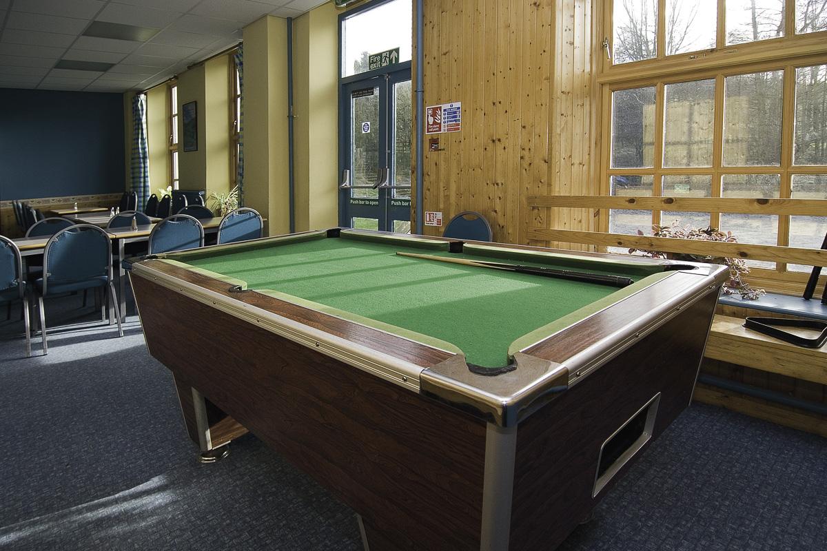YHA Osmotherley Games Room