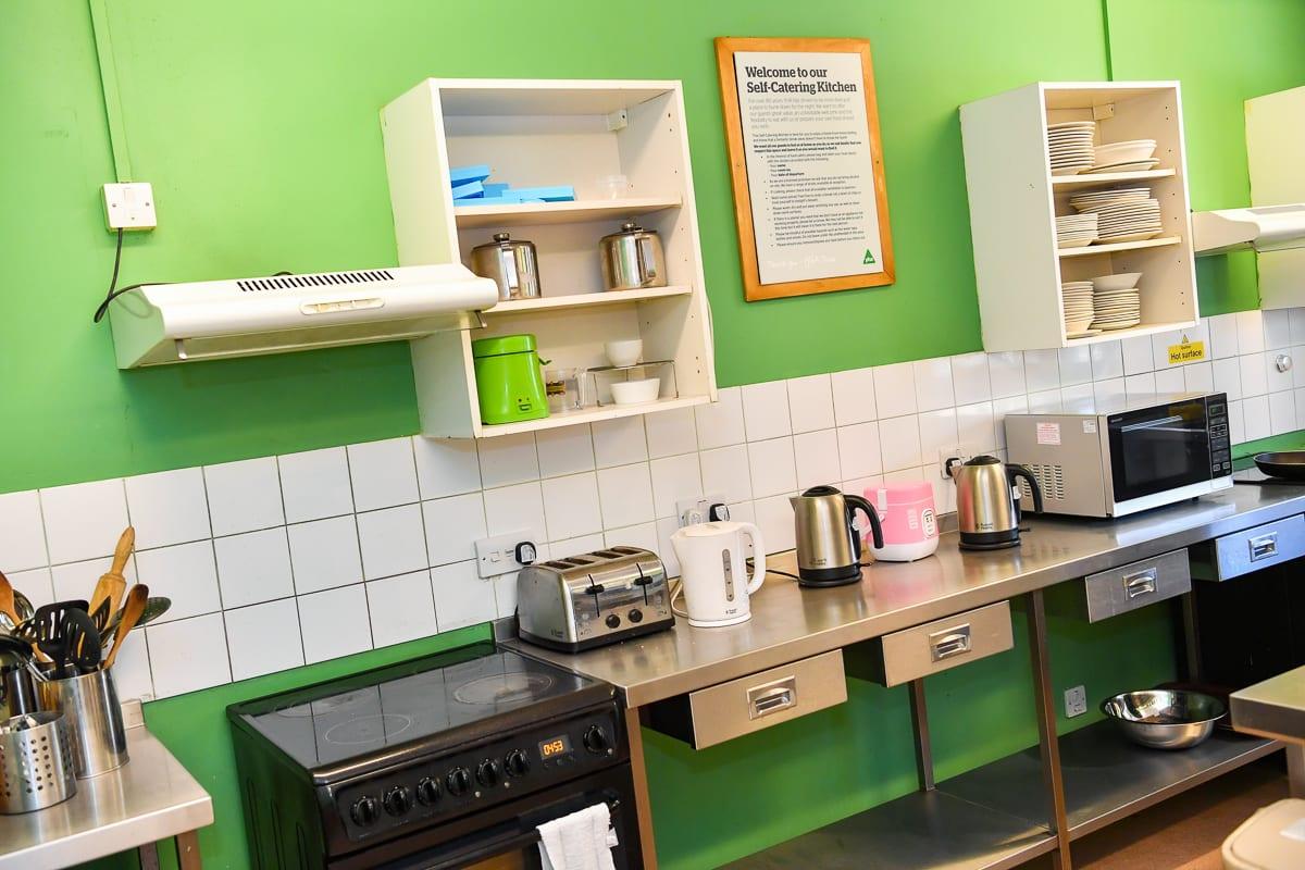 YHA Oxford Kitchen