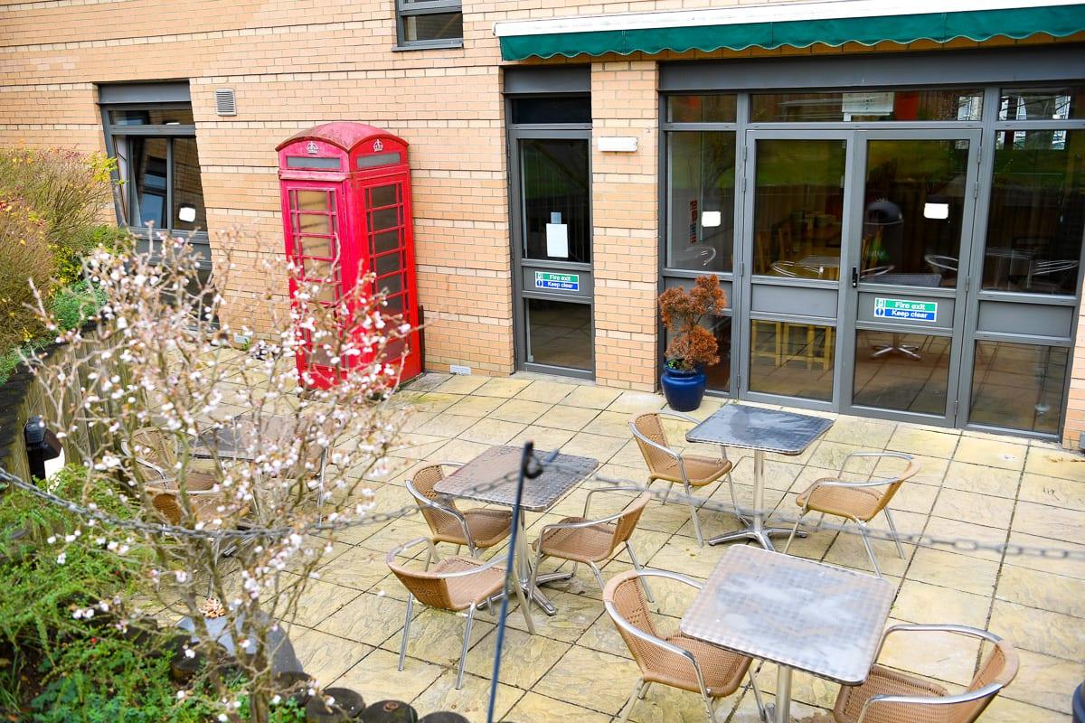 YHA Oxford Courtyard