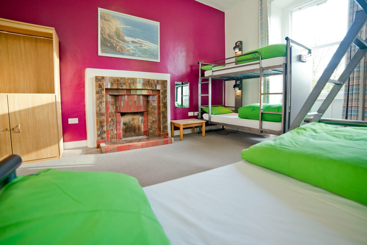 YHA Penzance Bedroom