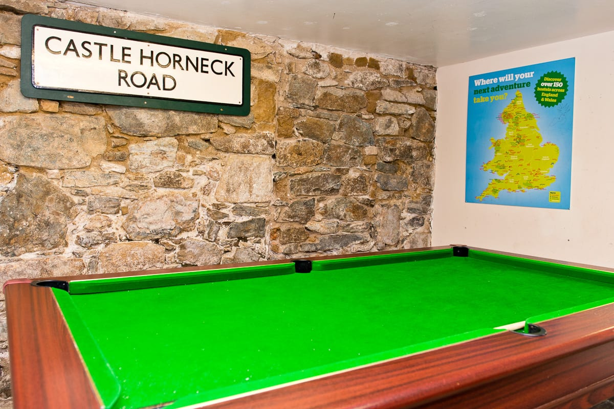 YHA Penzance Game Room