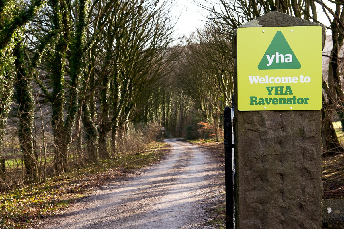 YHA Ravenstor Entrance