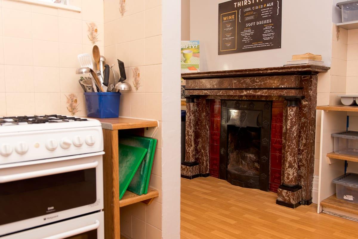 YHA Ravenstor Kitchen