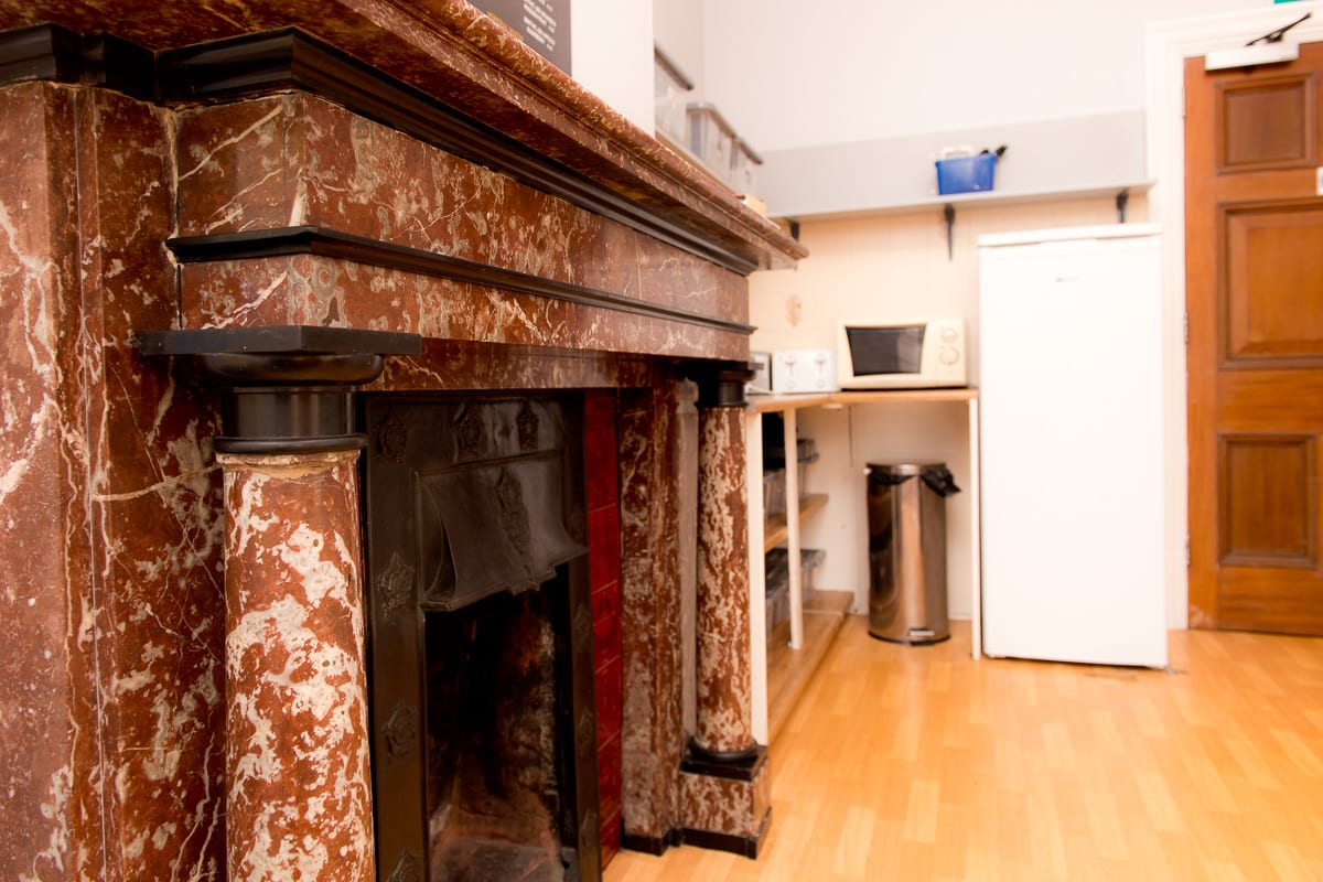 YHA Ravenstor Fireplace