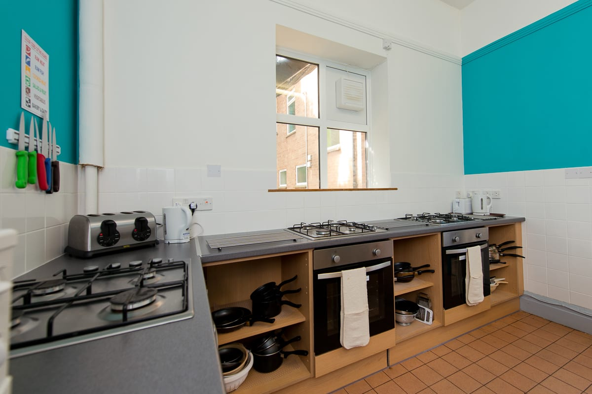 YHA Sheringham Kitchen