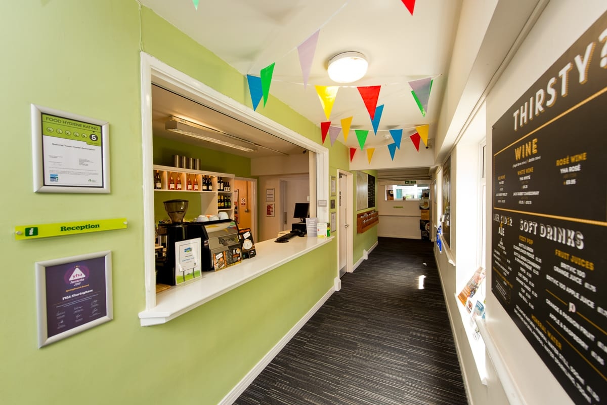 YHA Sheringham Reception