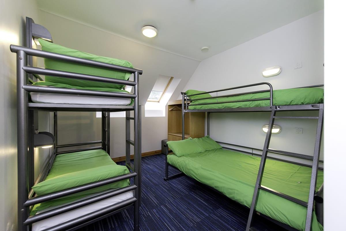 YHA Sherwood Forest Bedroom