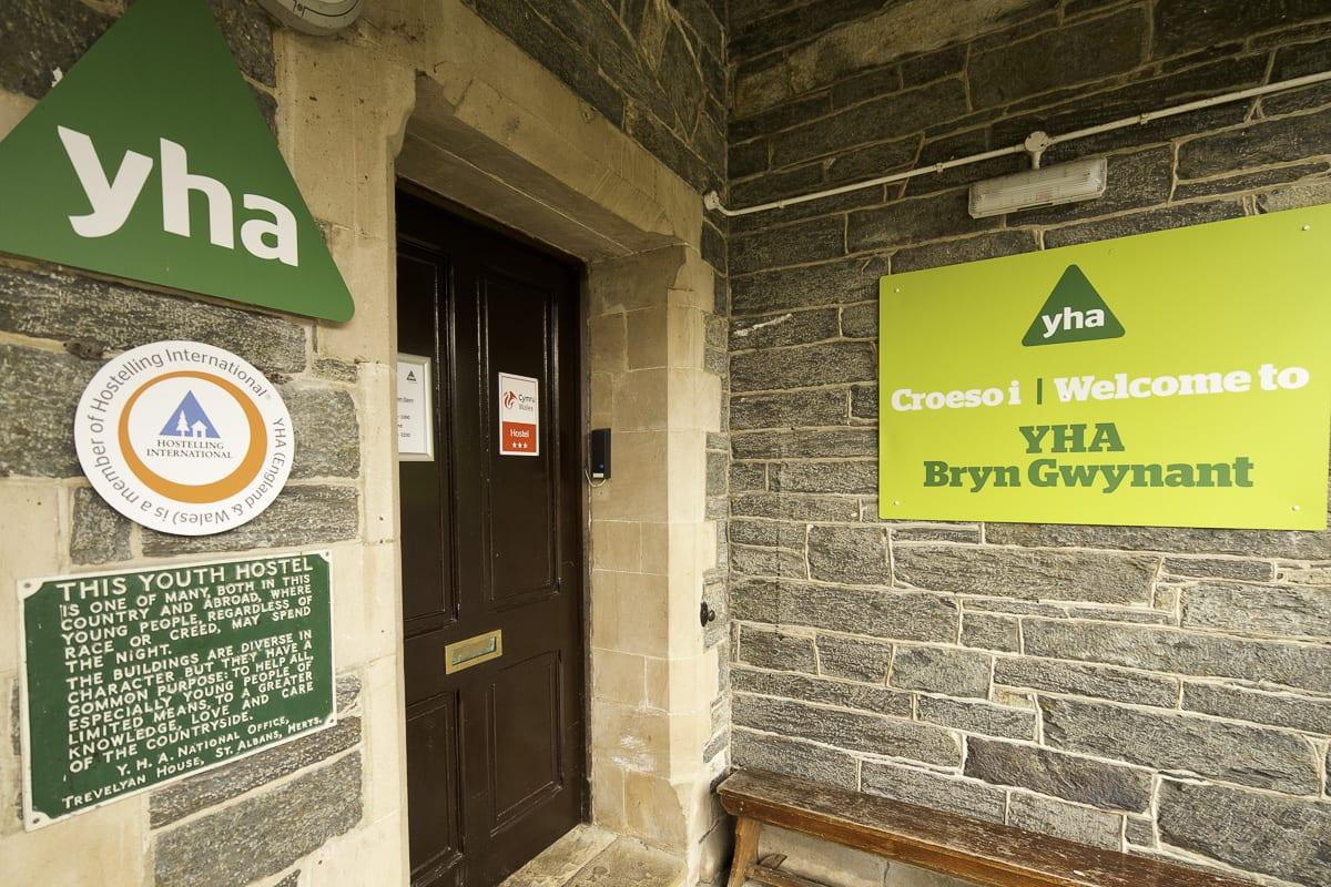 YHA Snowdon Bryn Gwynant Entrance
