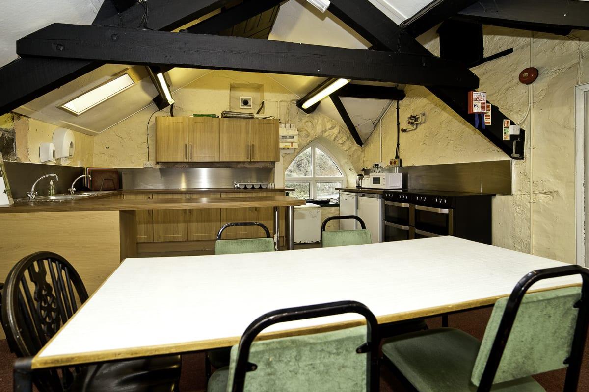 YHA Snowdon Bryn Gwynant Kitchen