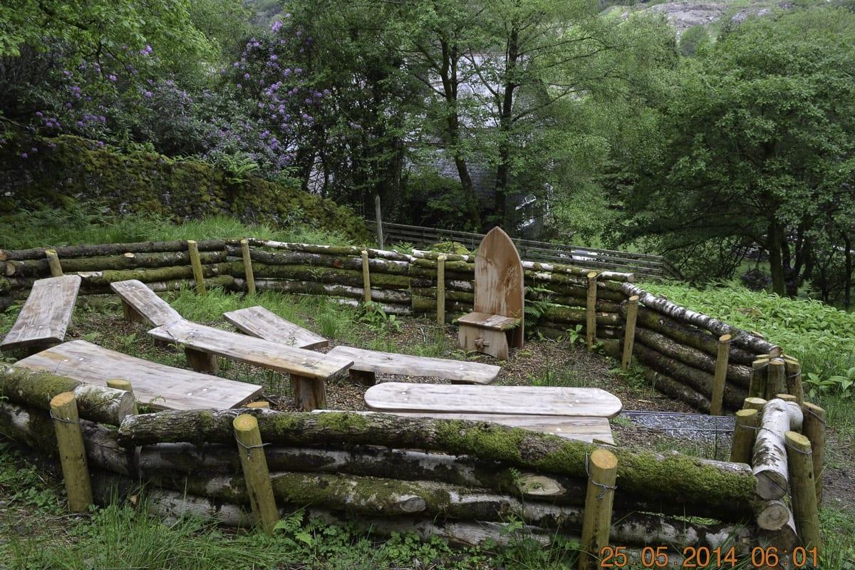 YHA Snowdon Bryn Gwynant Garden