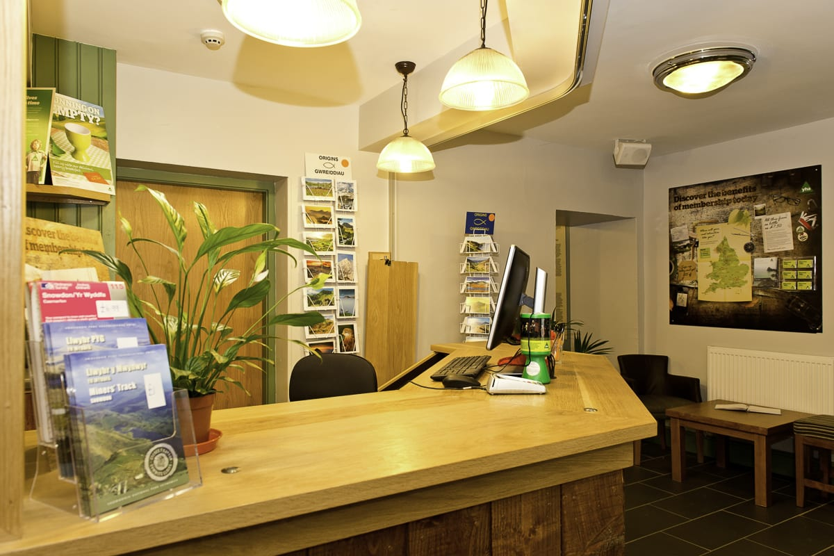 YHS Snowdon Pen-Y-Pass Reception