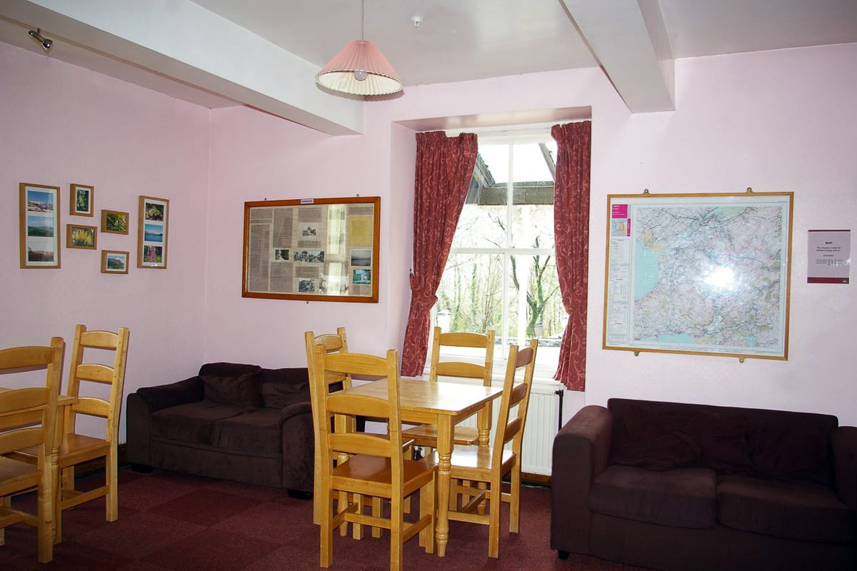 Common room and sitting area