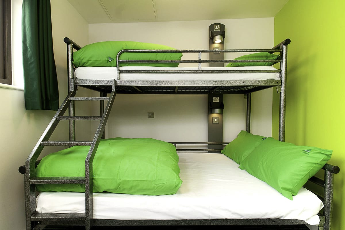 YHA South Downs Bedroom
