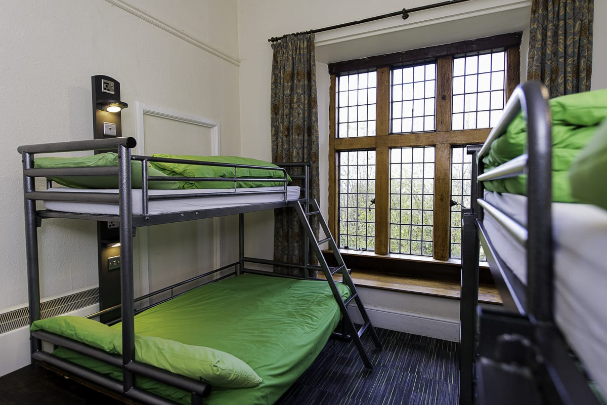 YHA St Briavels Bedroom