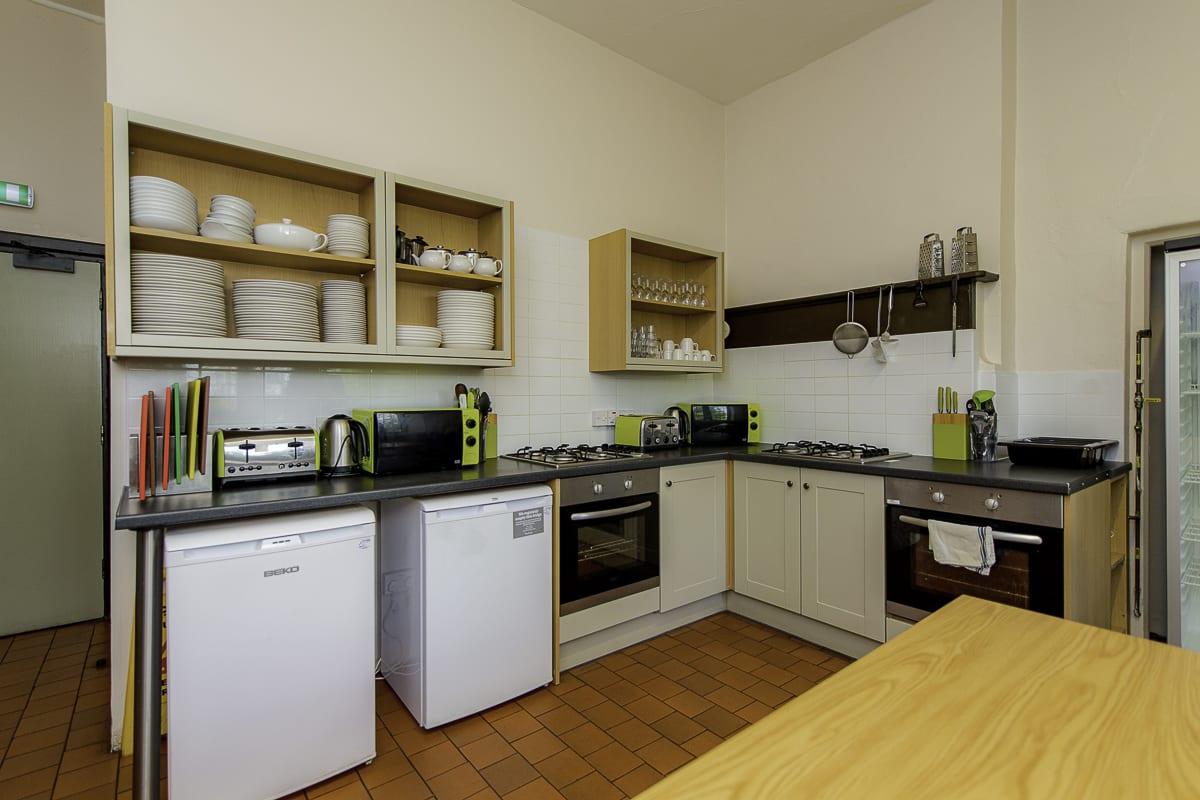 YHA St Briavels Kitchen