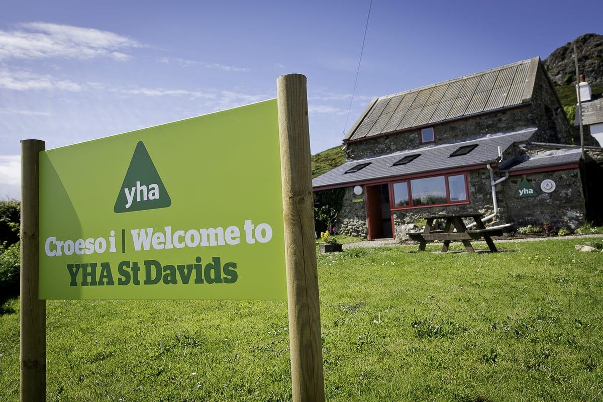 YHA St Davids - needs tags
