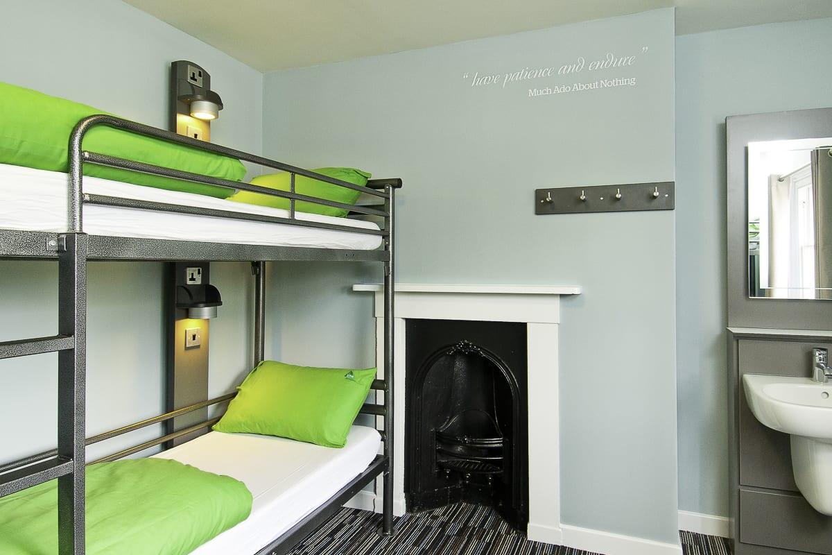 YHA St Davids Bedroom