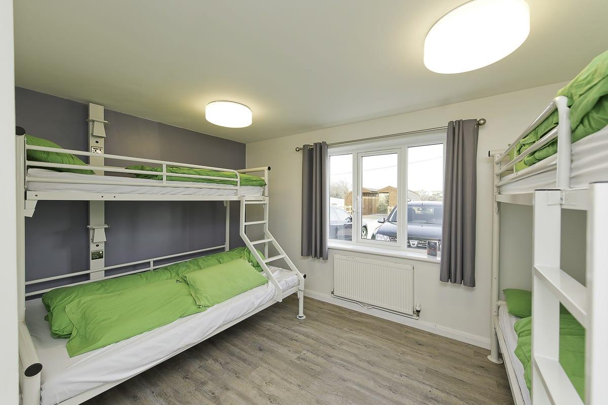 YHA Treyarnon Bedroom