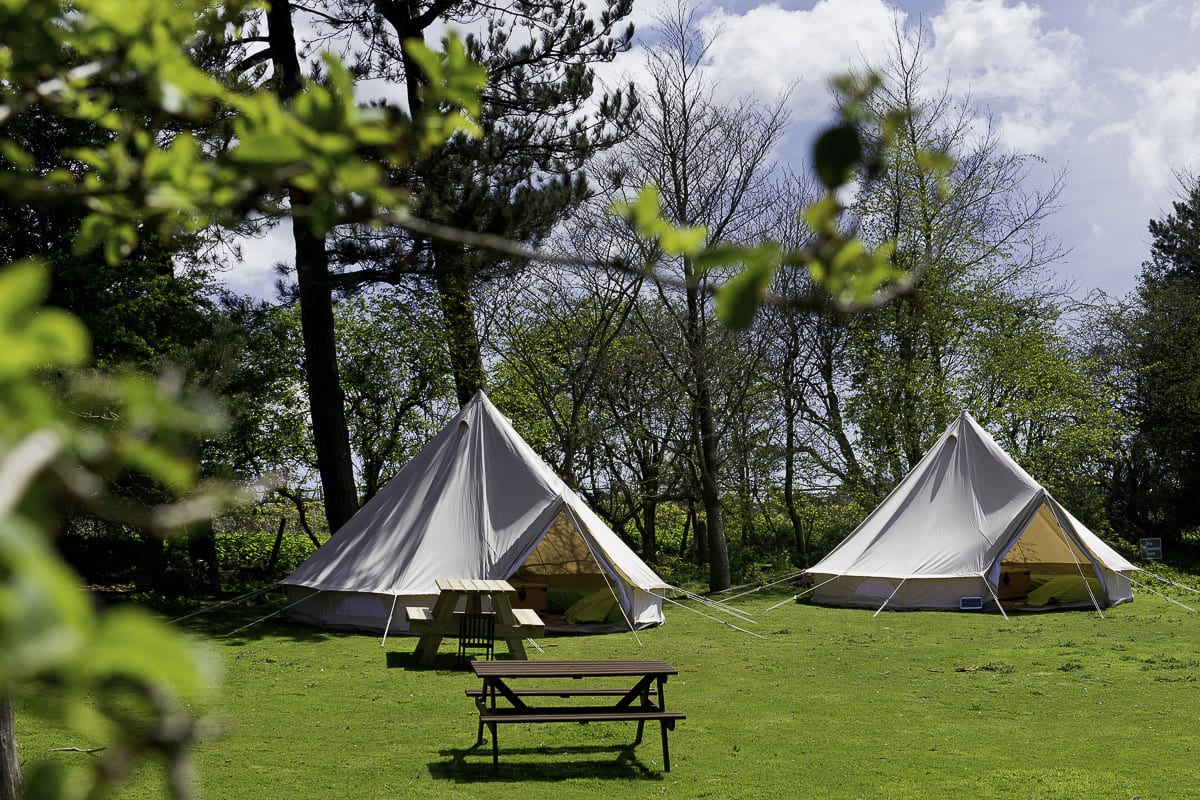 YHA Truleigh Hill Bell Tents