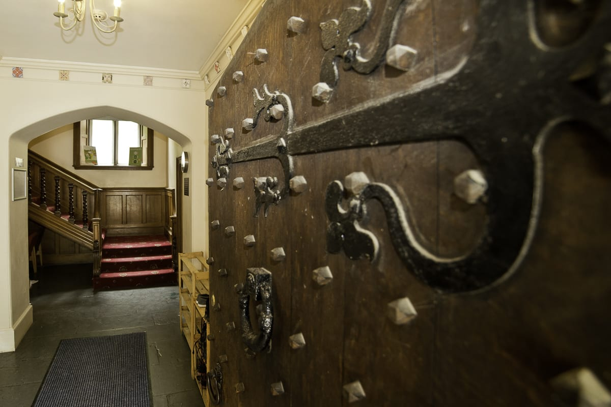 YHA Wasdale Hall Hallway