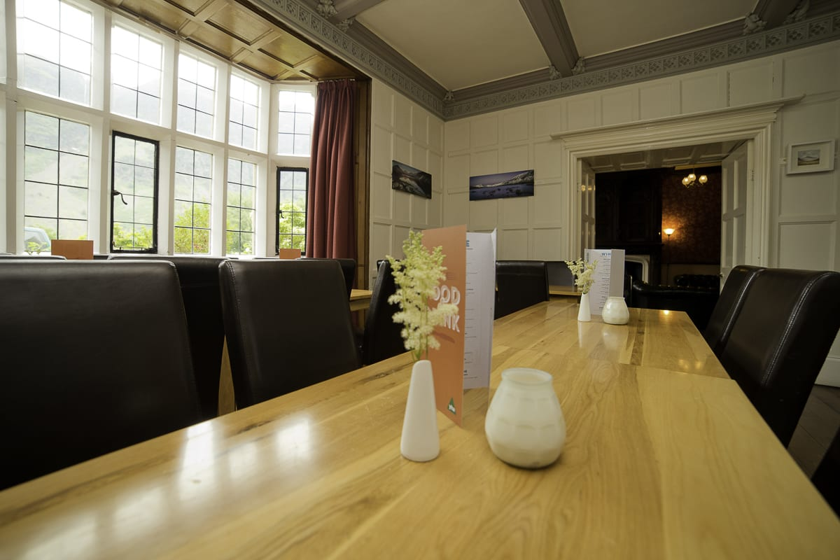 YHA Wasdale Hall Dining