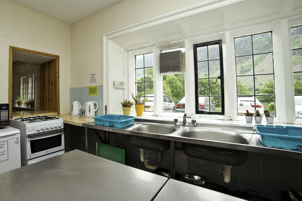 YHA Wasdale Hall Kitchen