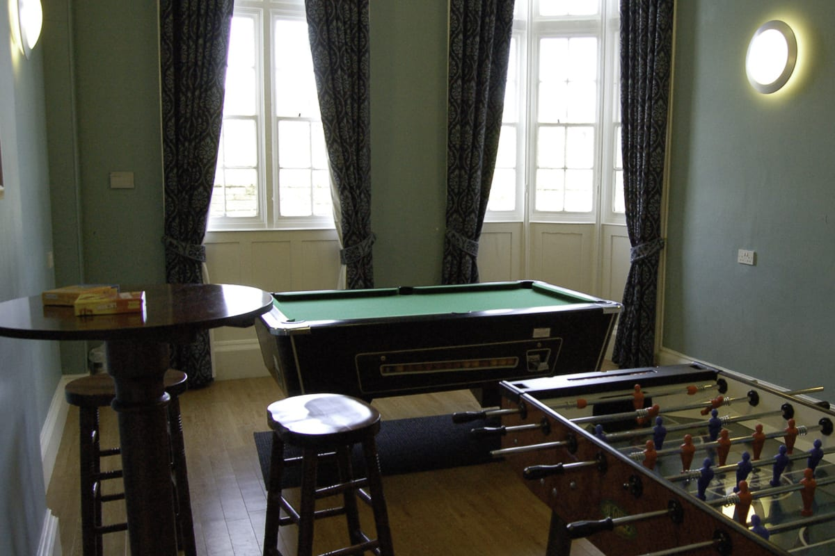 YHA Whitby Snooker Table