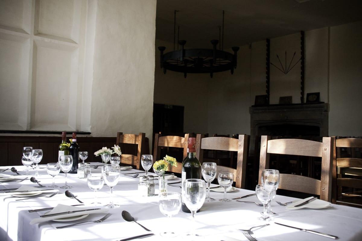 YHA Wilderhope Manor Dining
