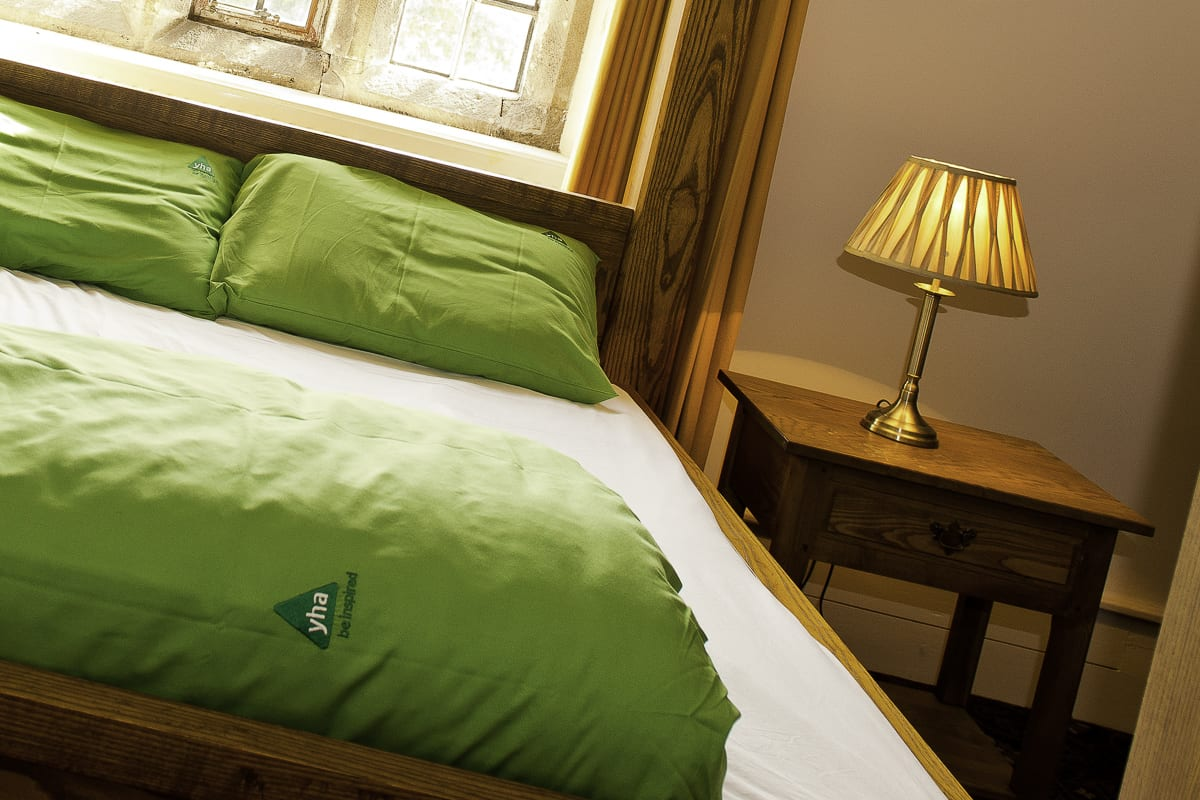 YHA Wilderhope Manor Bedroom