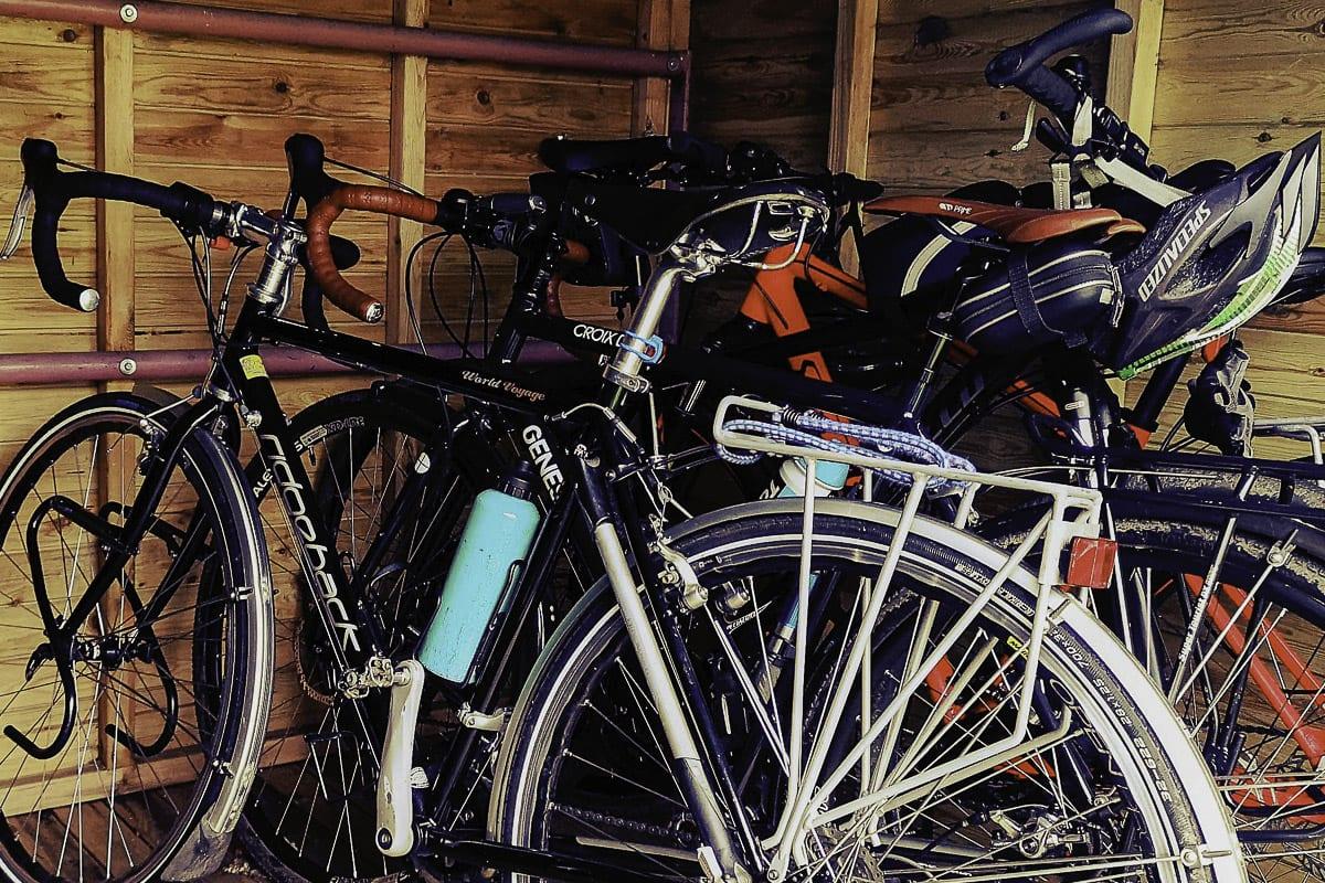 YHA Wooler Cycle Storage