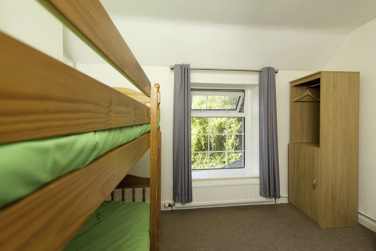 YHA Wye Valley Bedroom