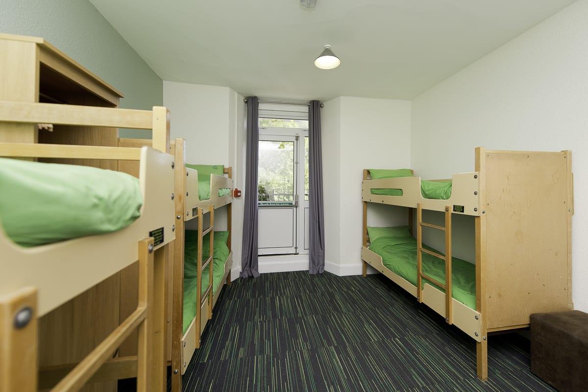 YHA Wye Valley Bedroom