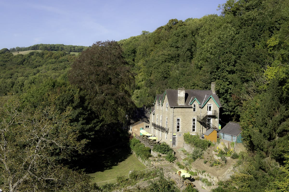 YHA Wye Valley Aerial