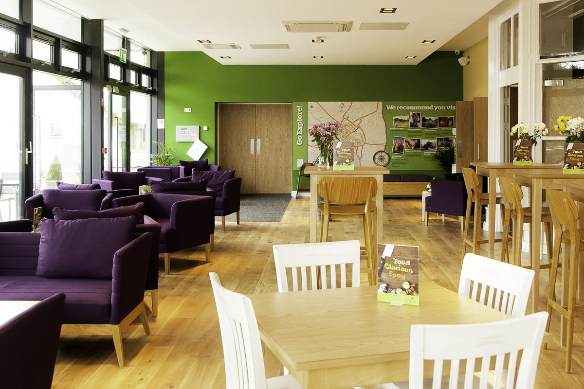 YHA York Sitting Area