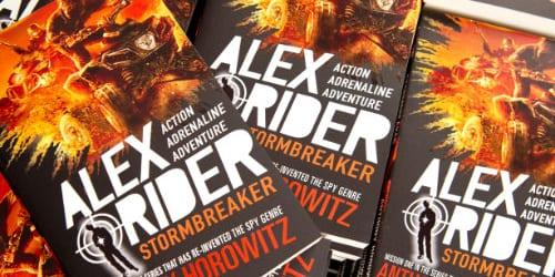 YHA Alex Rider book