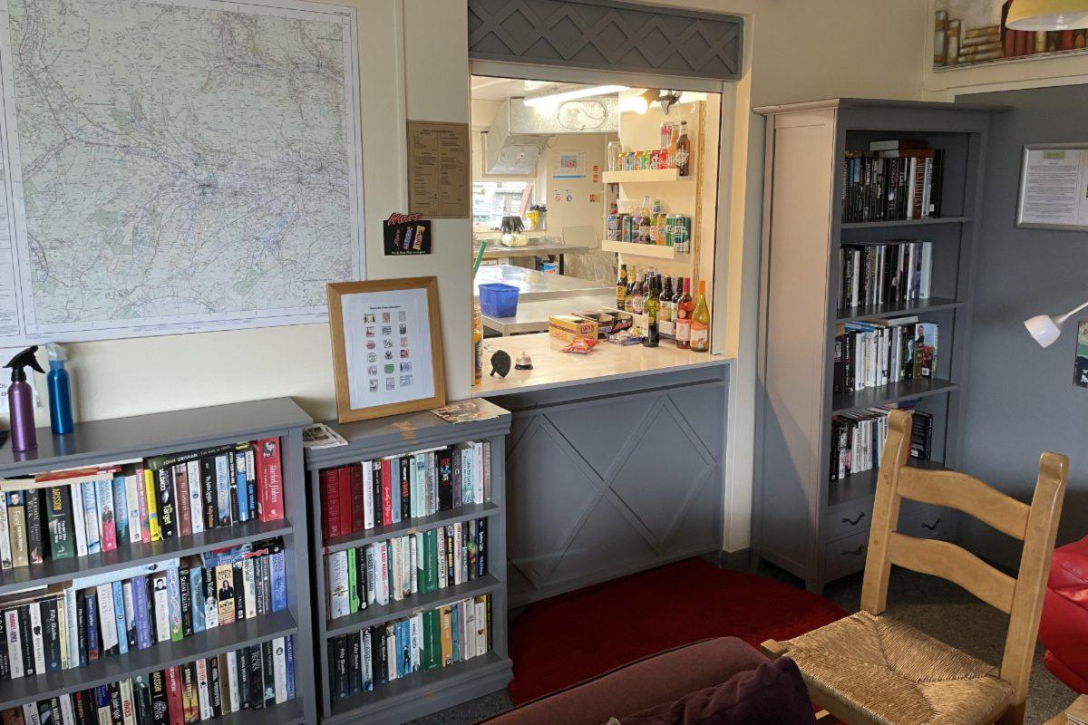 Reception area at YHA Hawes