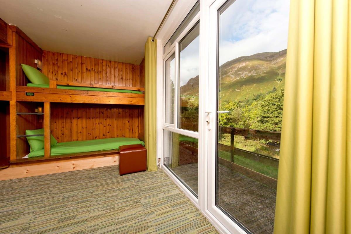 YHA Patterdale bedroom view