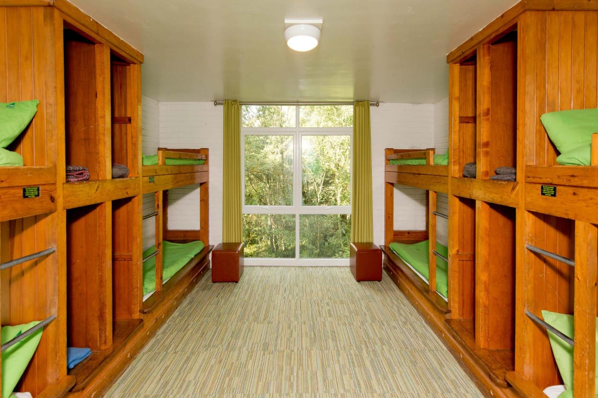 YHA Patterdale bunk beds view