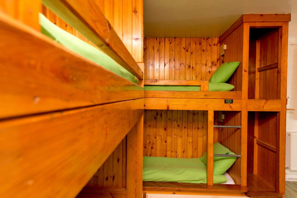 YHA Patterdale bunk beds