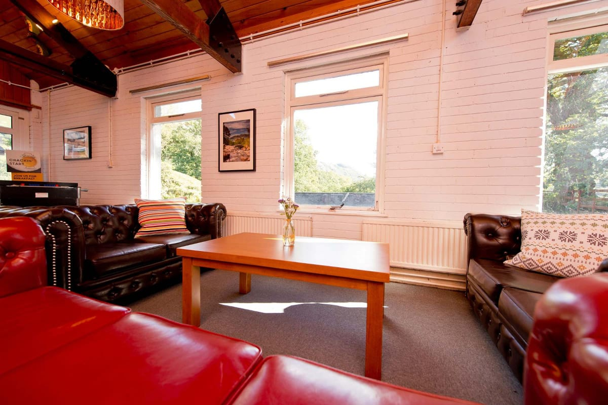 YHA Patterdale coffee table in lounge