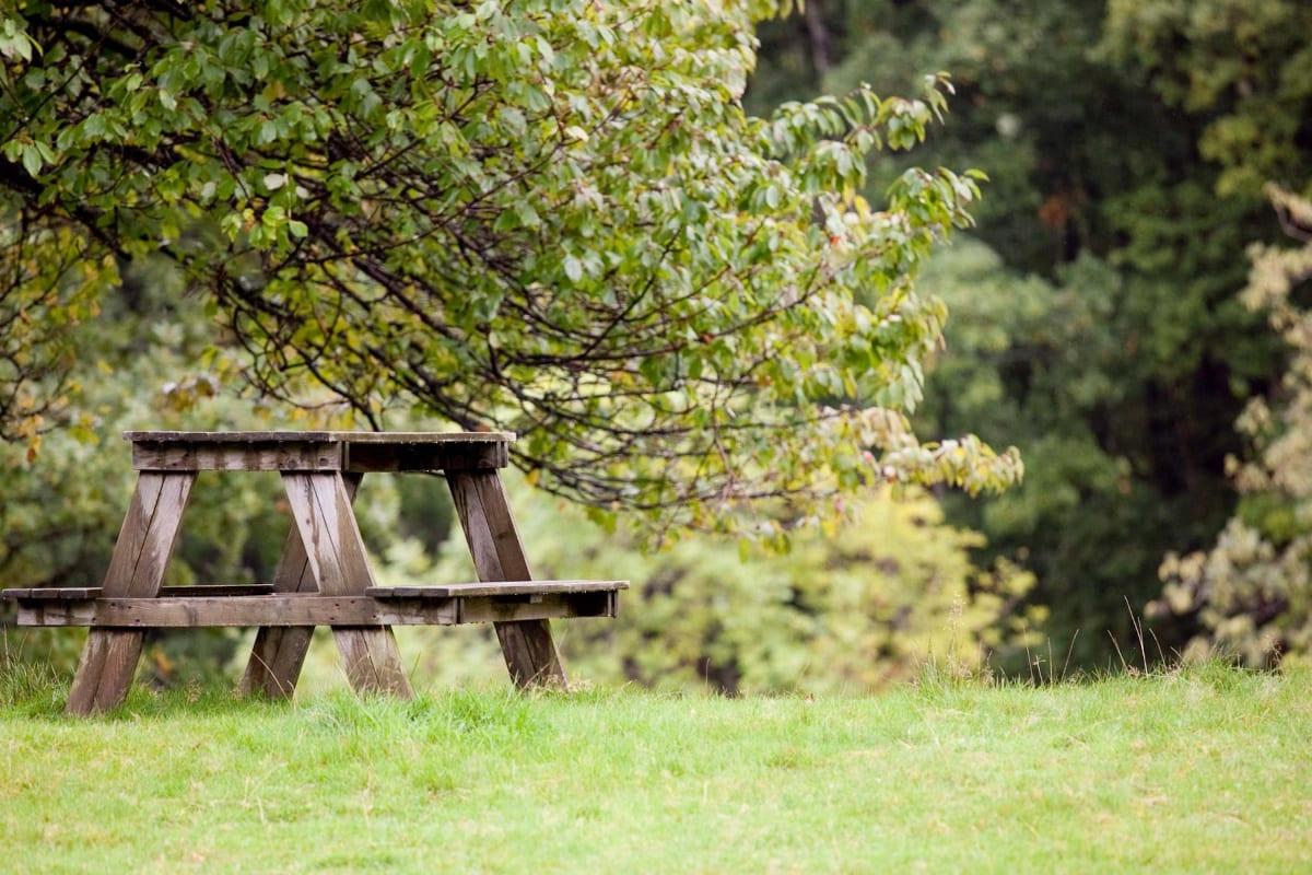 YHA Patterdale outdoor seating