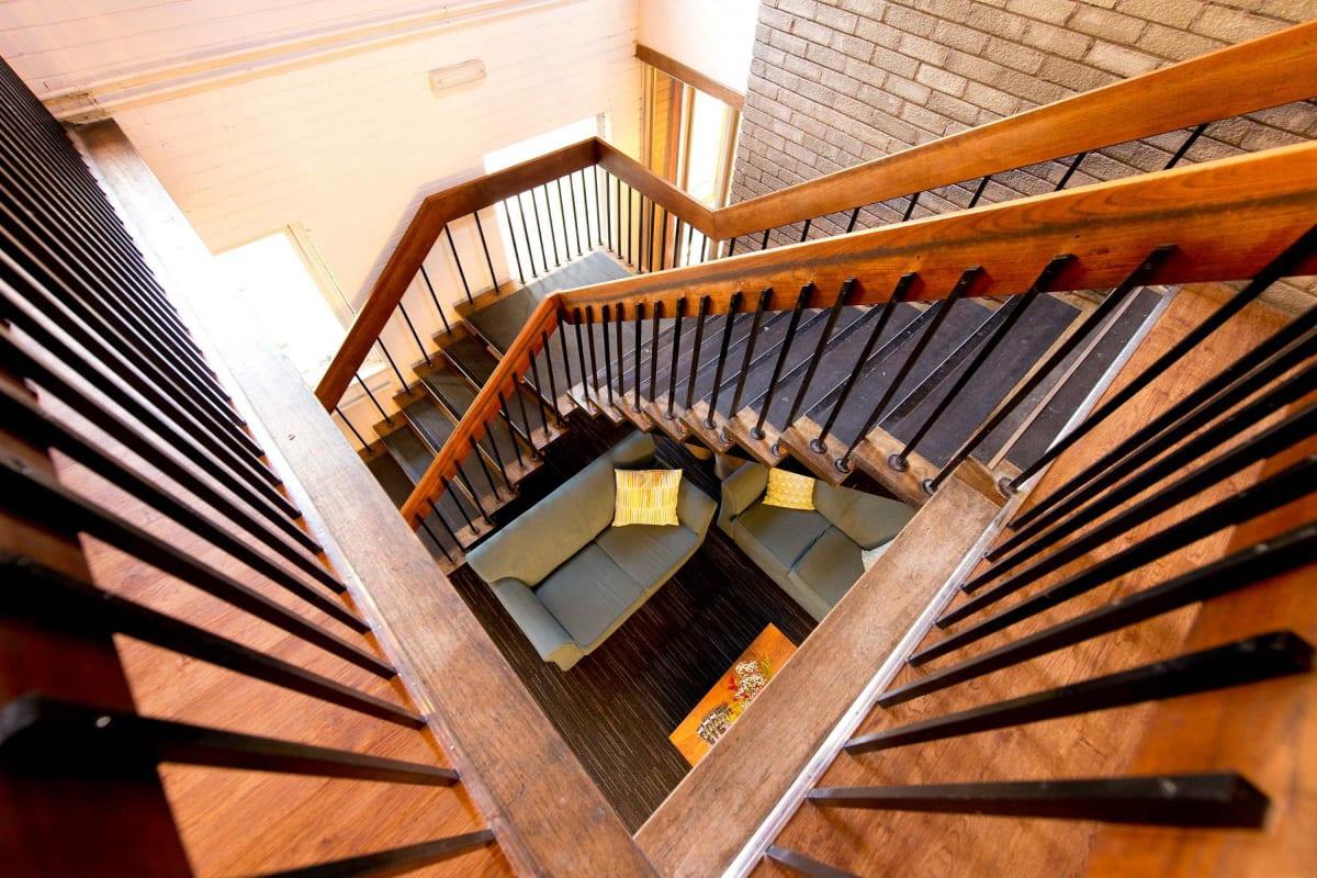 YHA Patterdale stairs