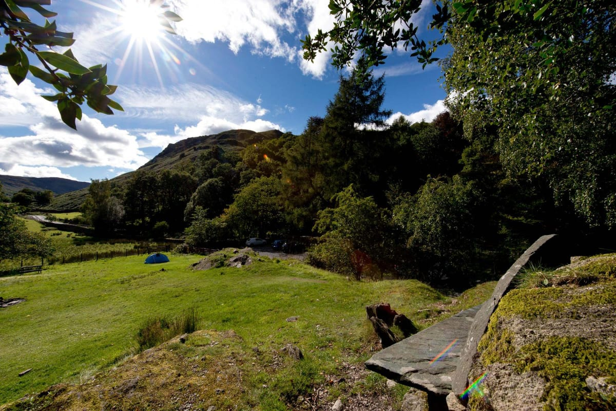 YHA Patterdale sunny grounds