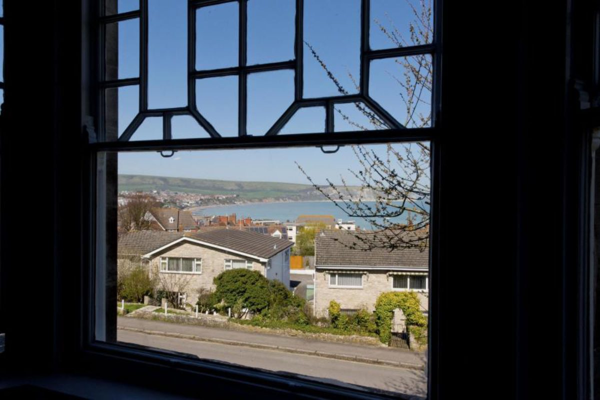 YHA Swanage bedroom view