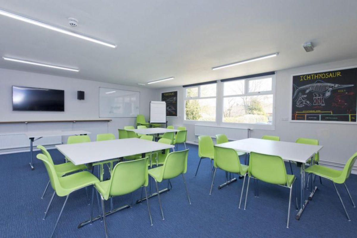 YHA Swanage classroom