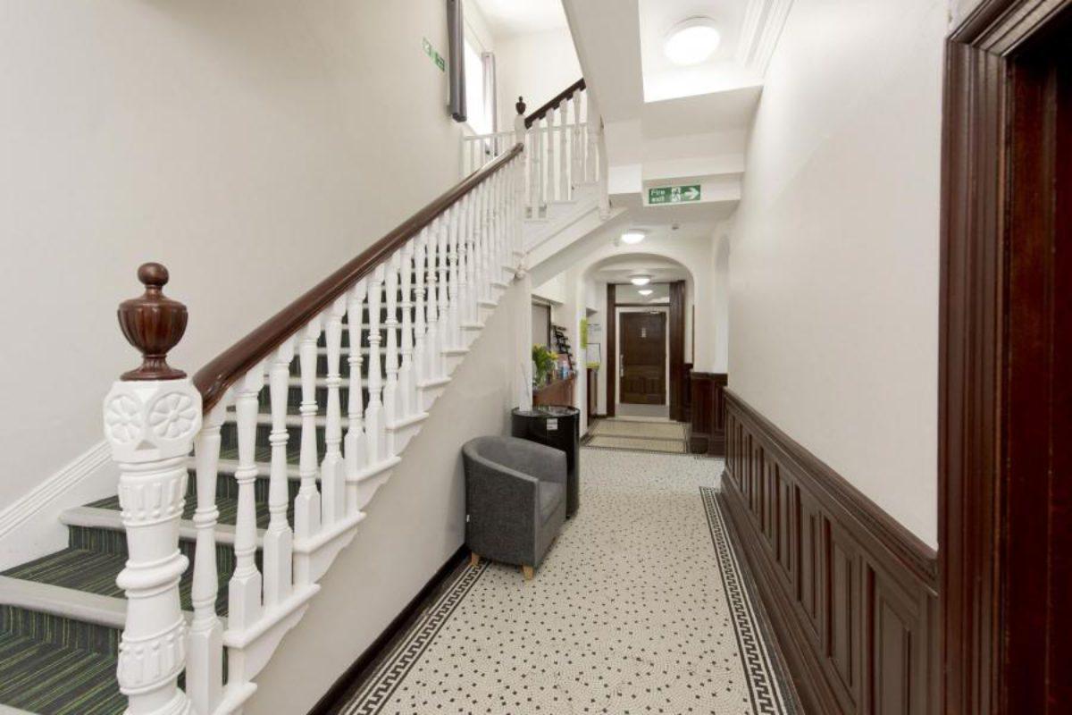 YHA Swanage corridor